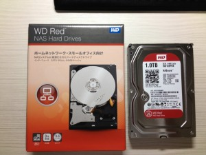 WD Red WD10EFRXを購入