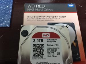 ファイルサーバのディスク交換